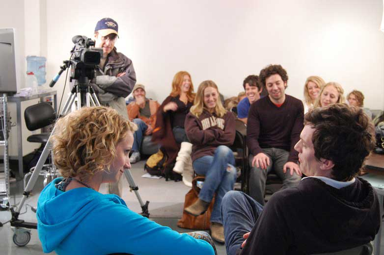 On-Camera Cold Reading, Scene Study and Audition Technique
